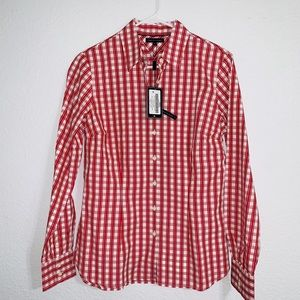 Tommy Hilfiger Bianca Apple Red Women's Shirt NWT